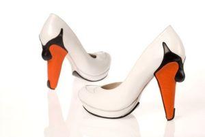 Kobi Levi shoe swan
